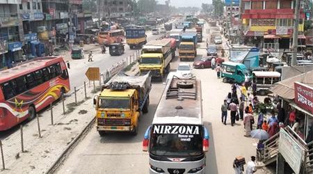 20 km traffic jam on Bangabandhu Bridge Highway