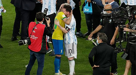 The day of Messi's immortality, the hero 'Brahmin Maria', Neymar's cry