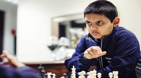Grandmaster at the age of 12!